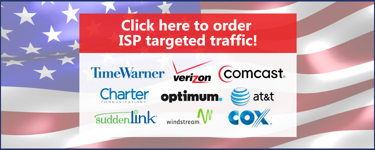 Buy ISP targeted traffic